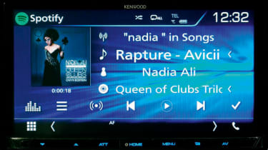 Car stereo - Kenwood DMX7017DABS