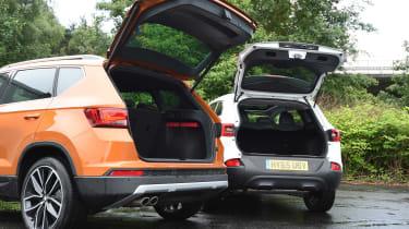 SEAT Ateca vs Renault Kadjar - boots