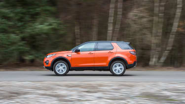 Land Rover Discovery Sport long-term - side