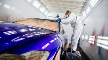 Maserati GranTurismo Zeda - painting