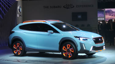 Subaru XV concept - show front