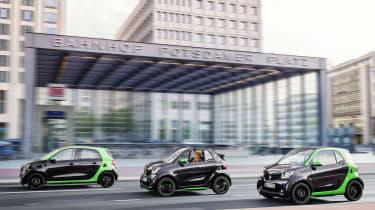 Smart Electric Drive range driving