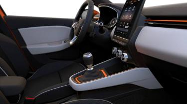 Renault Clio - interior details