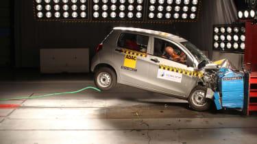 Maruti Suzuki Celerio crash test
