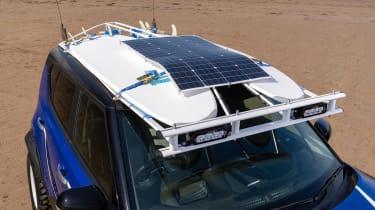 Kia Soul EV Boardmasters Edition - solar panel