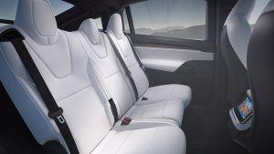 Tesla Model X facelift - rear seats
