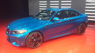 BMW M2 - front show
