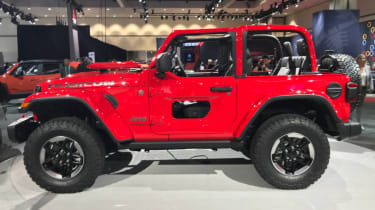 2018 Jeep Wrangler new - side profile