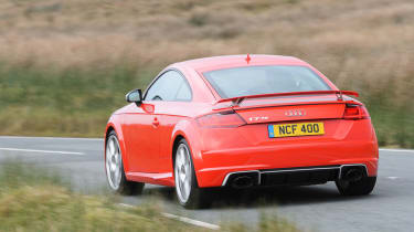 Audi TT RS 2016 - rear cornering