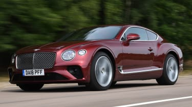 Bentley Continental GT - front tracking