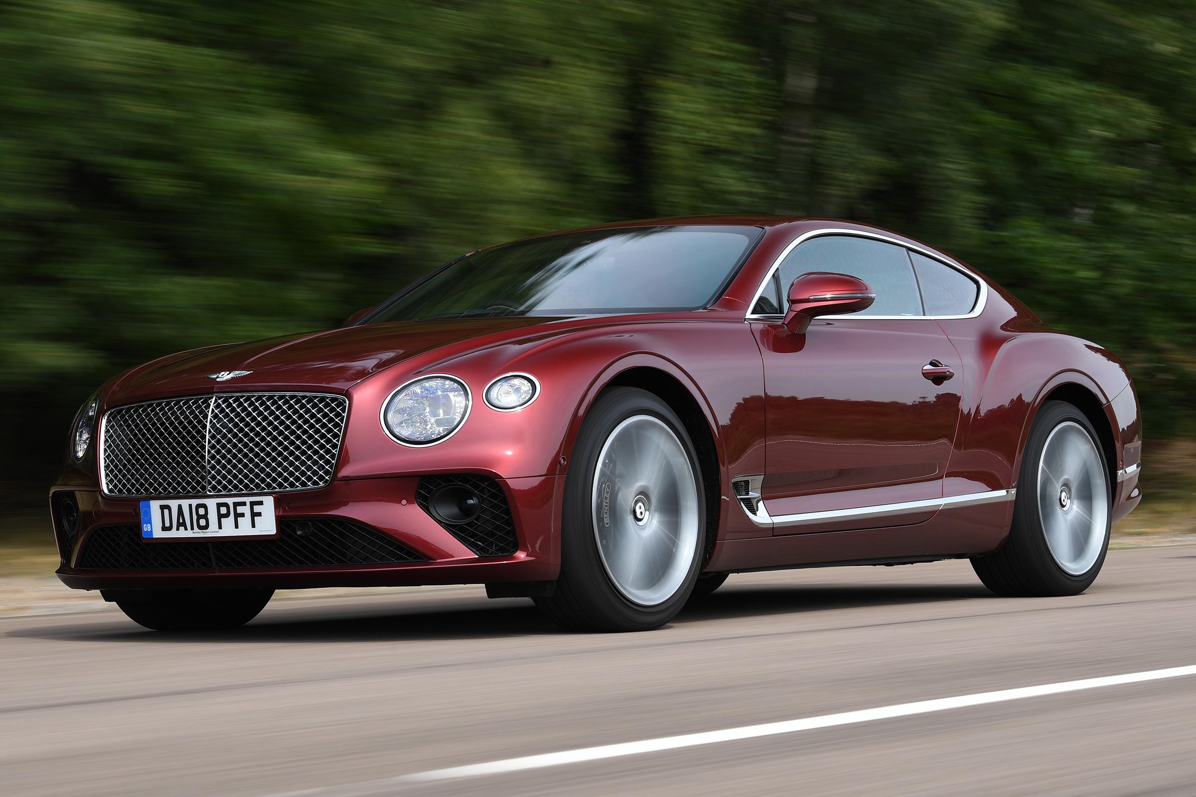 Bentley Continental Gt Best Luxury Cars Auto Express