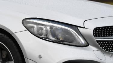 Mercedes C-Class Estate - headlights