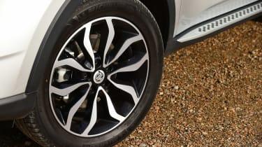 MG GS vs rivals - MG GS wheel