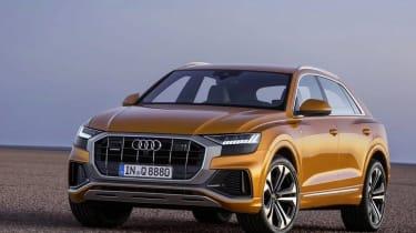 Audi Q8 leaked images