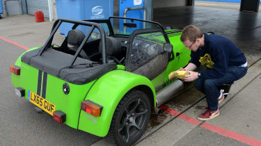 Long-term test review: Caterham 270S - fourth report washing
