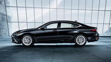Lexus ES - side black