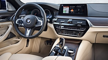 New BMW 5 Series Touring - interior