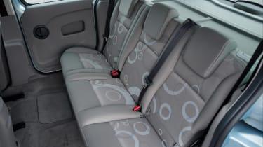 Renault Kangoo mpv rear seats