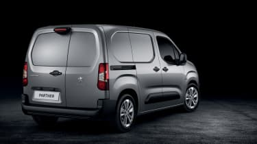 Peugeot Partner - rear studio
