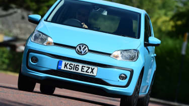 Volkswagen High up! 2016 - front tracking