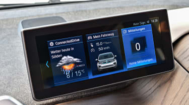 BMW i3 facelift - infotainment