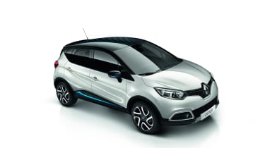 Renault Captur Iconic Nav front side