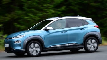 Hyundai Kona electric side profile