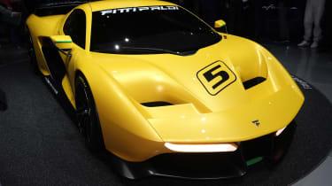 Pininfarina Fittipaldi EF7 Geneva - front static