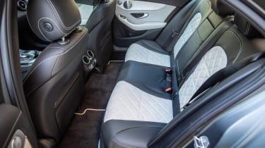 Mercedes C 300 de - rear seats
