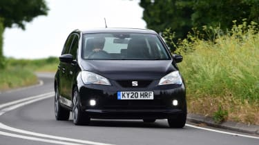 SEAT Mii electric UK - driving