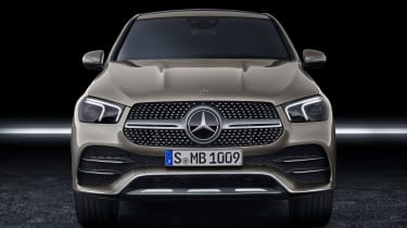 Mercedes GLE Coupe - front static