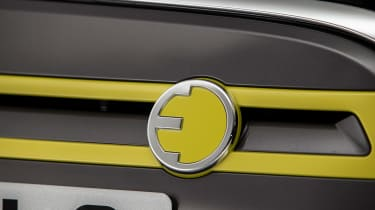 MINI Electric - grille