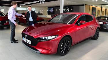 Mazda 3 Skyactiv-X long termer - first report front