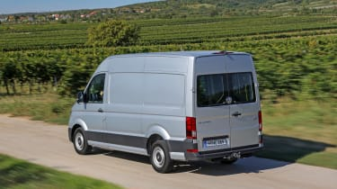 VW Crafter 4motion - rear