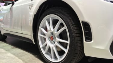 abarth 124 spider rally tribute alloy wheel