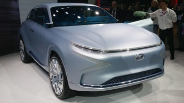Hyundai FE Fuel Cell Concept Geneva - front static