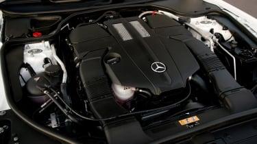 Mercedes SL400 - engine