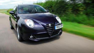 Alfa Romeo MiTo TwinAir front action