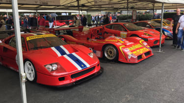 Ferrari stand - Goodwood