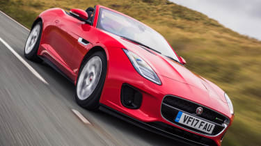 Jaguar F-Type Convertible 2.0-litre 4-cylinder - front action
