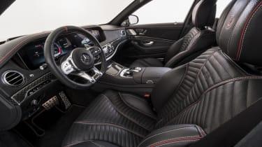 Brabus 700 front interior