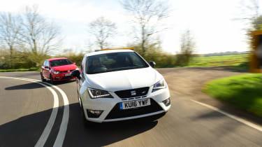 SEAT Ibiza Cupra vs VW Polo GTI - header 2