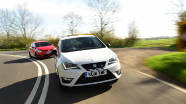SEAT Ibiza Cupra vs VW Polo GTI - header 2
