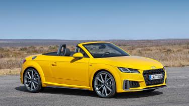 Audi TT Roadster - front static