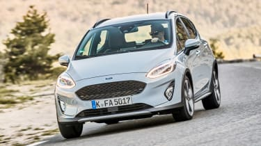 Ford Fiesta Active - front cornering