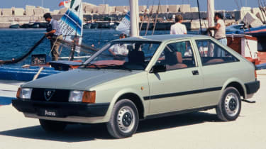 Top 10 worst cars - Alfa Romeo Arna front quarter