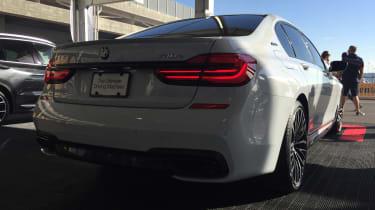 BMW M740e - rear
