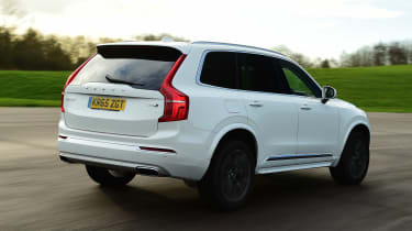 Volvo XC90 - rear action