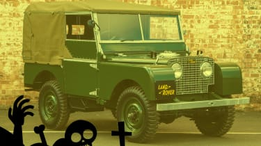 scary cars land rover series 1