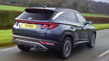 Hyundai Tucson - rear tracking